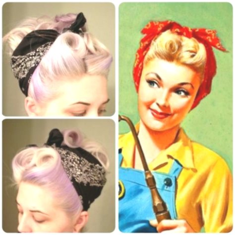 Amazing awesome 50's hairstyle pattern-Beautiful 50's hairstyle decor