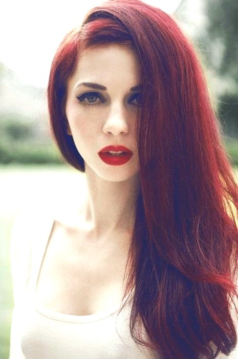 lovely hairstyles red hair portrait-Wonderful hairstyles Red hair collection
