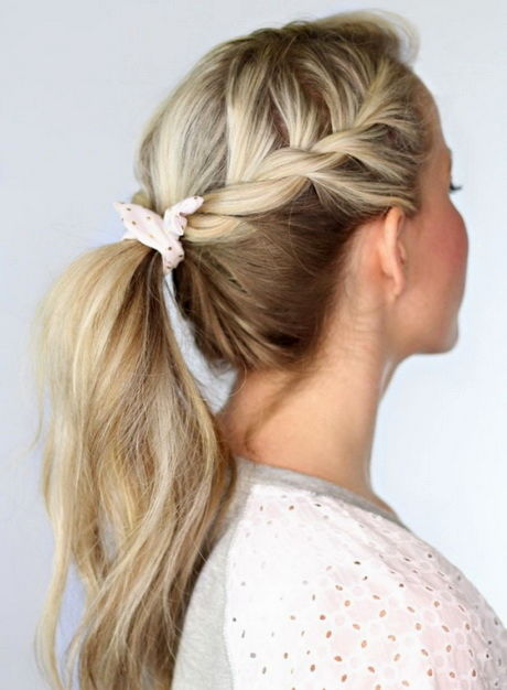 contemporary fast simple hairstyles decoration-Nice Fast Easy Hairstyles layout