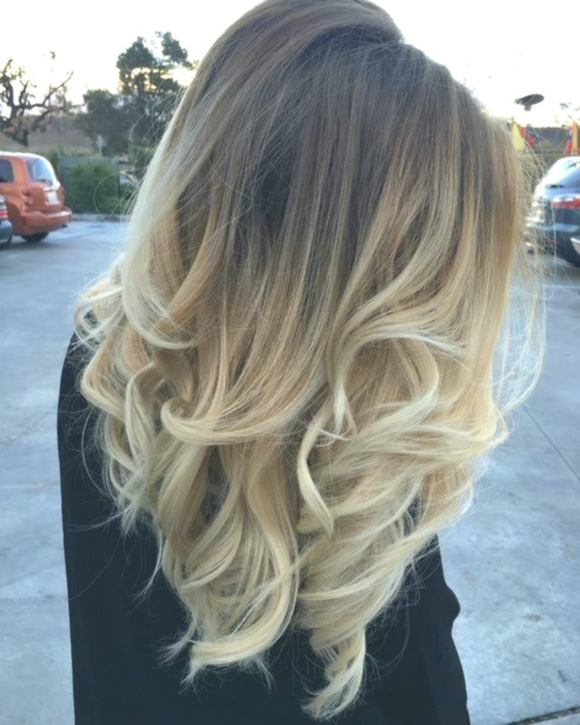 stylish blonded hair darker color decoration-Fascinating Blond Hair Dark Coloring Portrait
