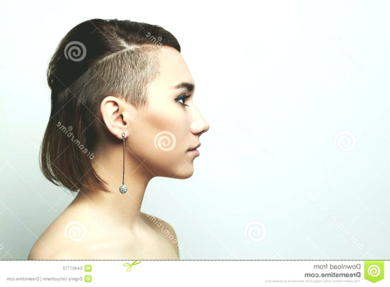 contemporary short haircut portrait-Awesome short haircut pattern