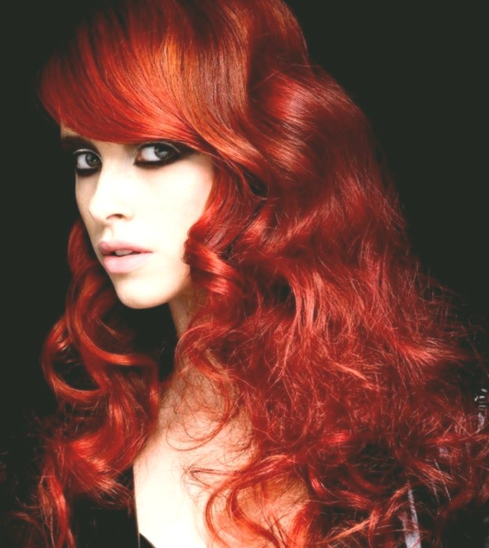 Elegant Hair Dyeing Red Photo - Breathtaking Hair Dyeing Red Wall