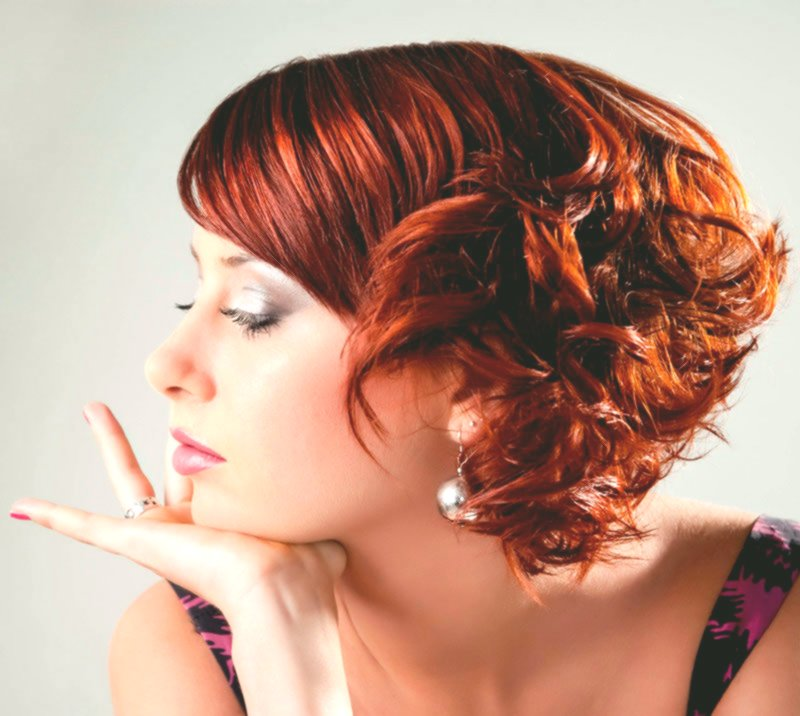 Fascinating hairstyles red hair decoration-Wonderful hairstyles Red hair collection