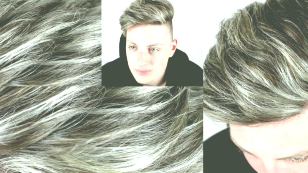 Amazingly Awesome Gray Hair Pattern - Modern Against Gray Hair Model