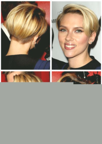 fresh scarlett johansson short hair décor-Unique Scarlett Johansson Short Hair Gallery