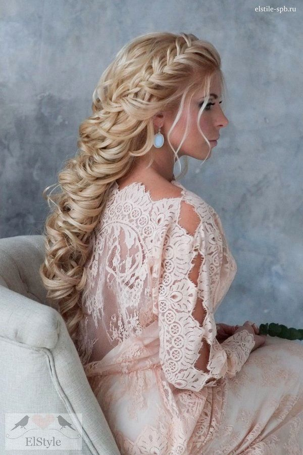 Fancy Wedding Hairstyles Curl Concept-Breathtaking Wedding Hairstyles Curl Models