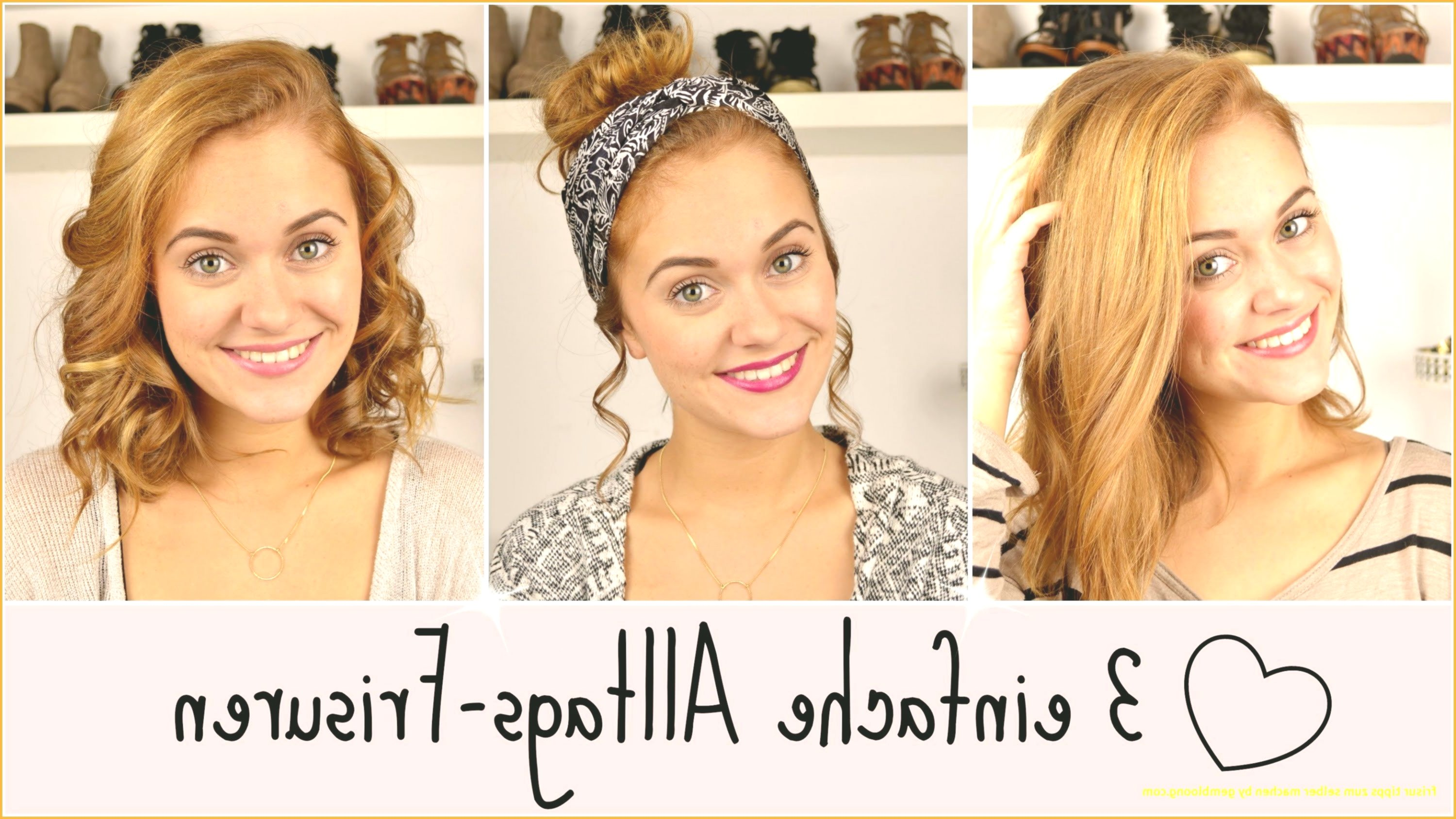 new simple hairstyles for everyday design top Simple hairstyles for everyday wear model