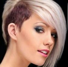 Photo of Fresh Short Hairstyles With Sidecut Concepts