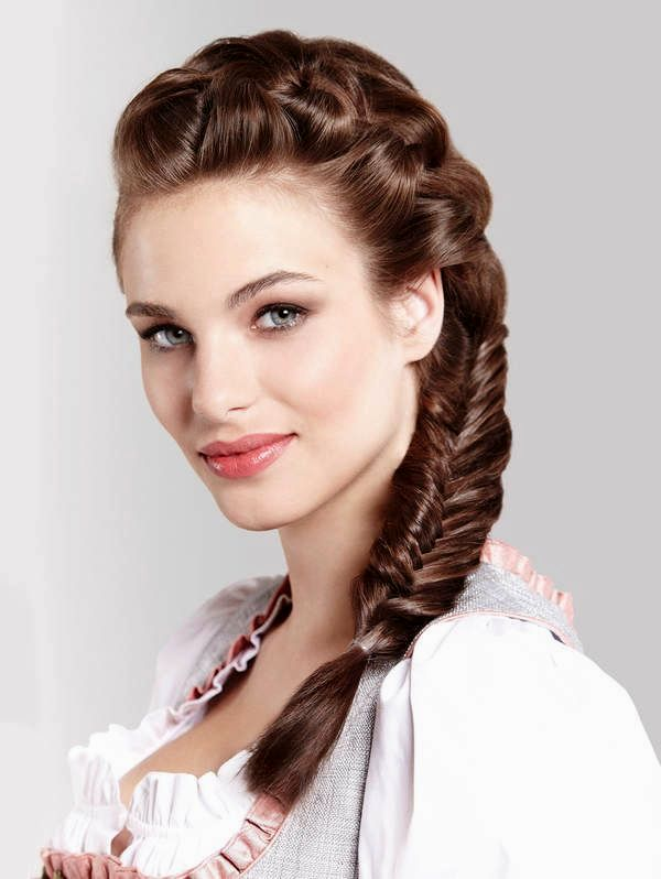 excellent hairstyles for dirndl inspiration-Charming Hairstyles For Dirndl Photography
