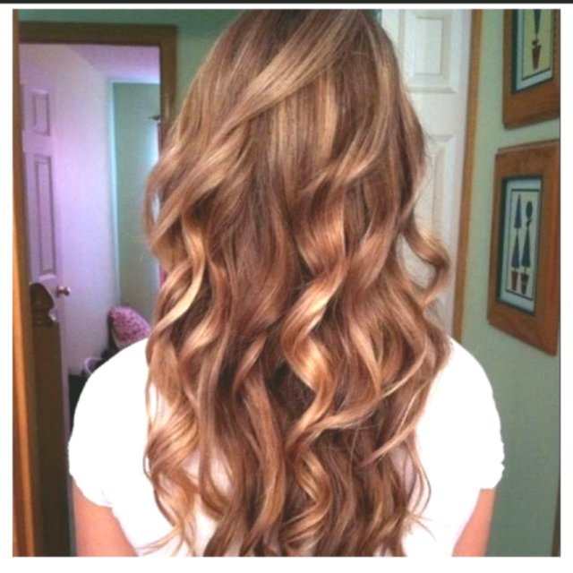 lovely golden brown hair color photo - Fascinating golden brown hair color decor