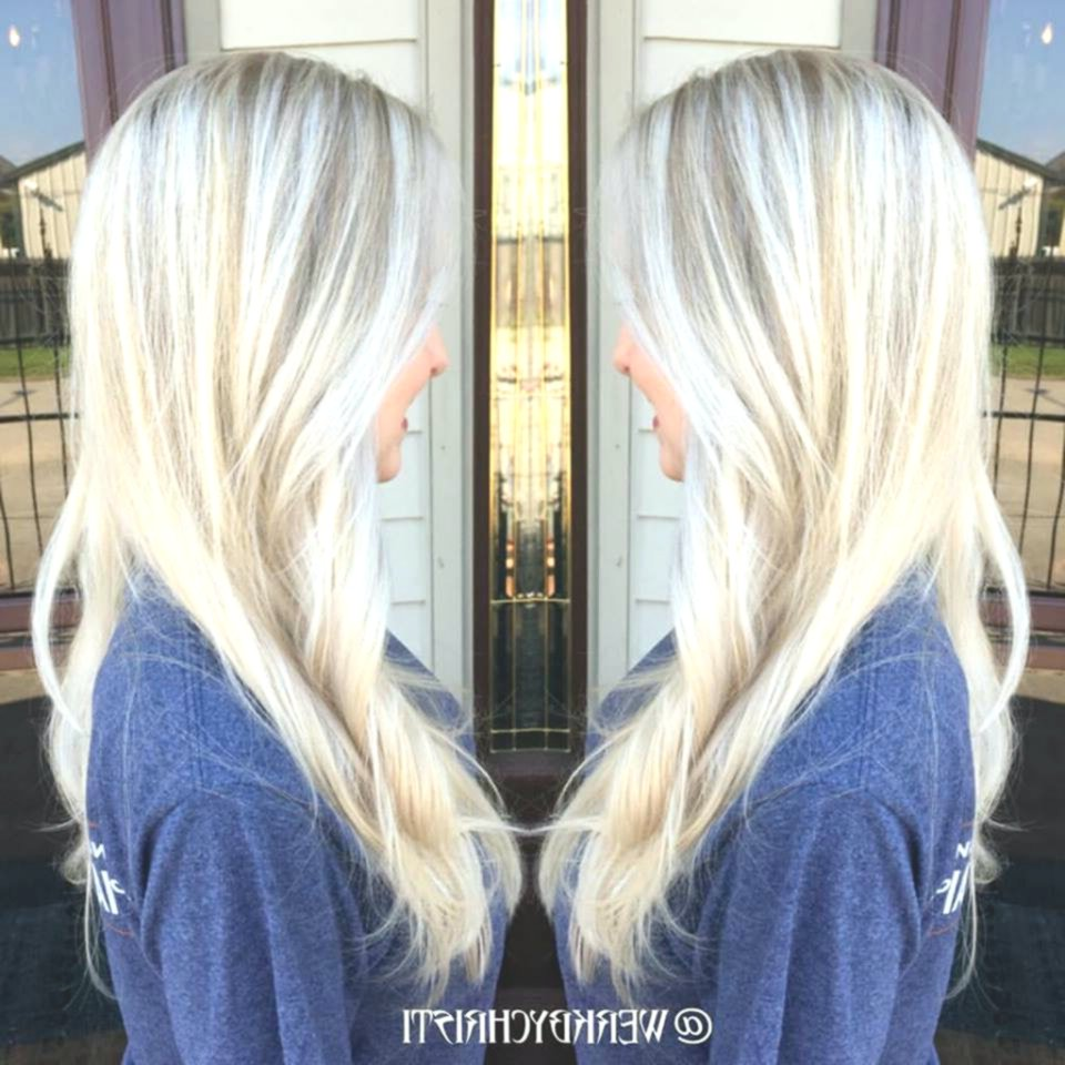 Lovely platinum blonde hair color inspiration-Beautiful platinum blonde hair color layout