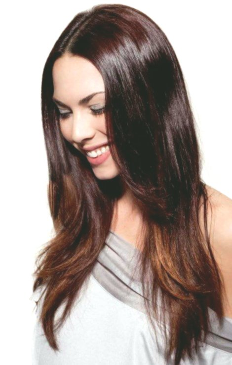 Amazing awesome hair straightening model-Cute Hair Correct Smoothing Model