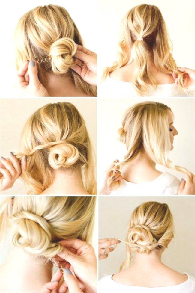 amazing awesome updos for short hair ideas-Charming Updos for Short Hair Ideas