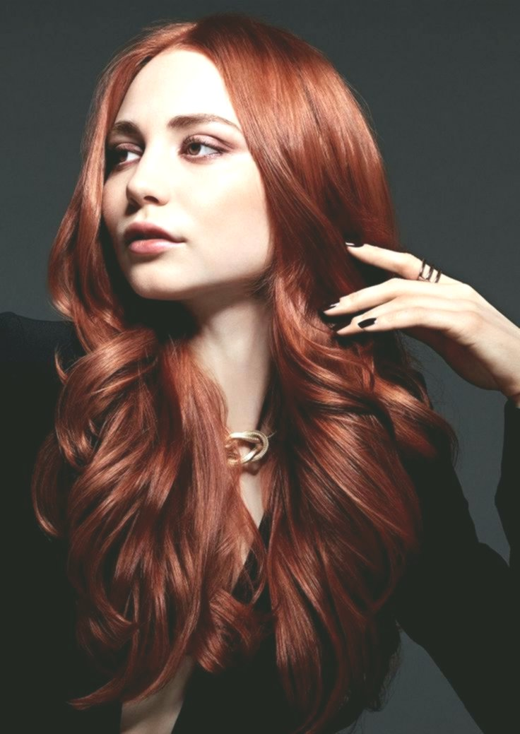 inspirational red hair concept-fancy red hair layout