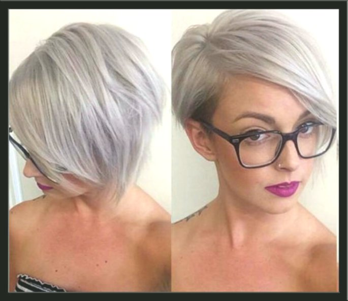 Stylish Short Hairstyles for Gray Hair Architecture-Modern Short Hairstyles For Gray Hair Layout