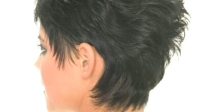 Photo of Short messy hairstyles: black hair