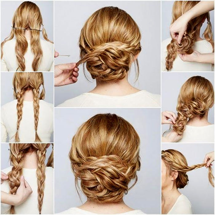 finest vintage bridal hairstyle pattern-Cute vintage bridal hairstyle collection