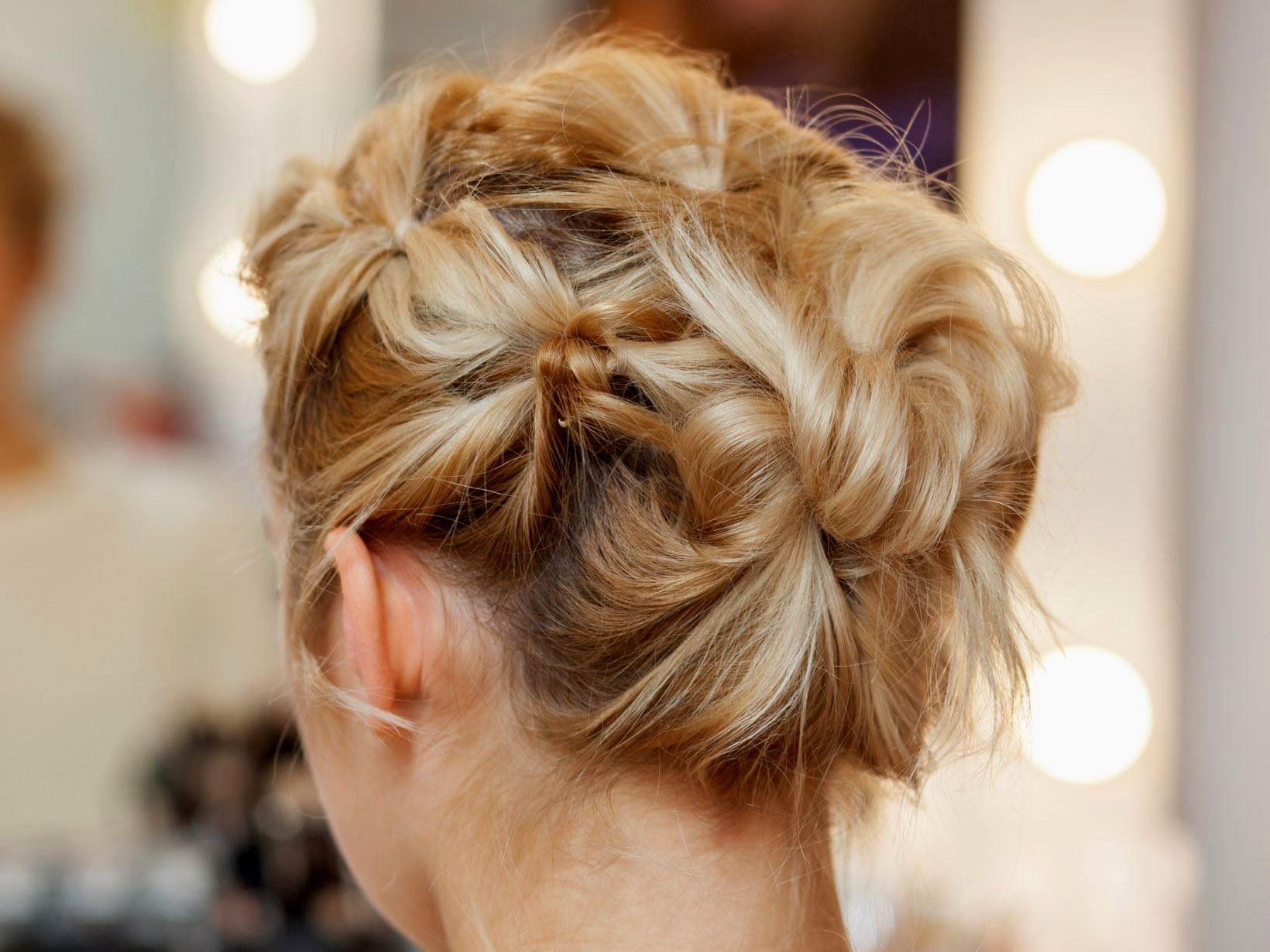 lovely updos for thin hair pattern-Best updos for thin hair photography