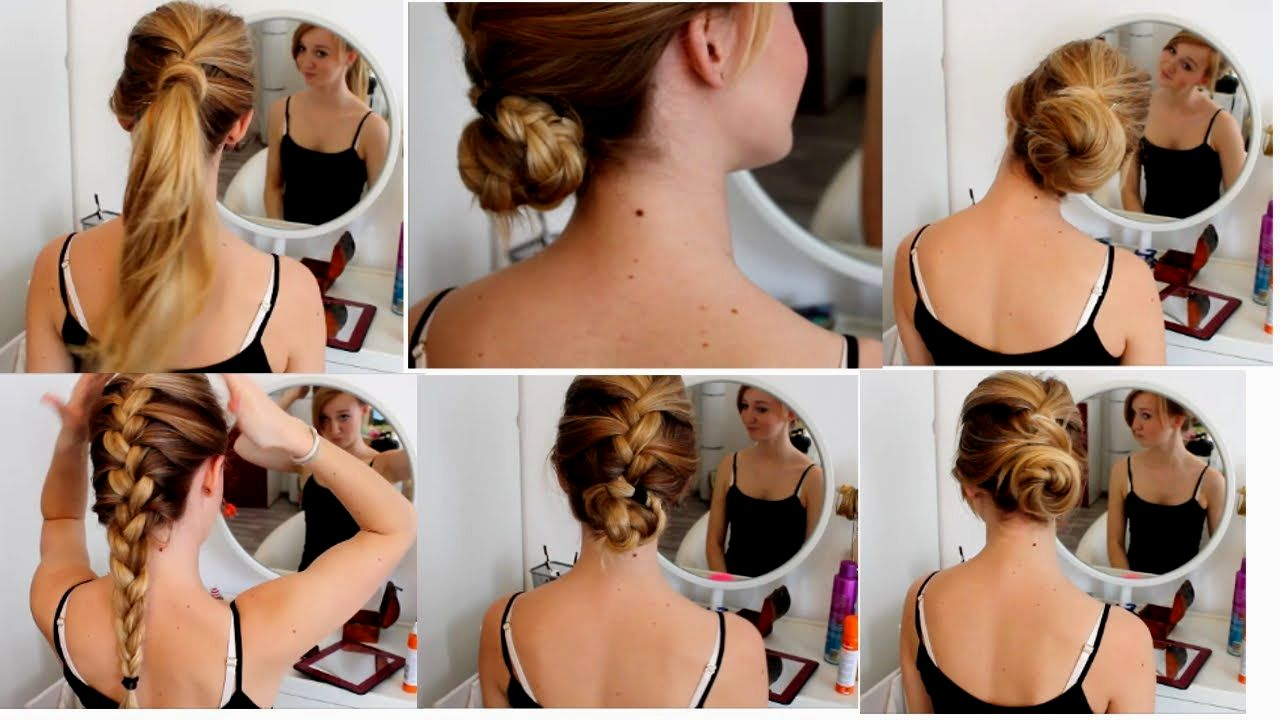 stylish braided hairstyles with dutt build layout Cool braided hairstyles With Dutt architecture
