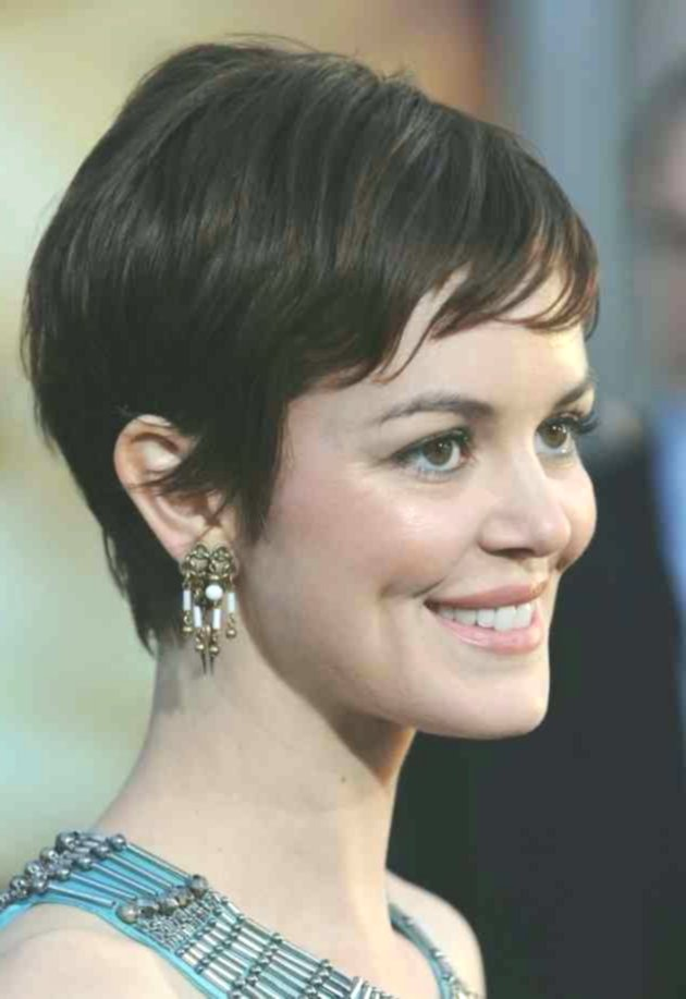 lovely easy-care short hairstyles photo picture-top Easy-care short hairstyles concepts