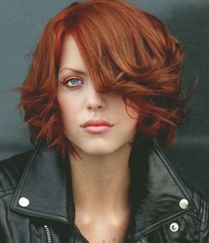modern chestnut hair color photo picture - Awesome chestnut hair color model