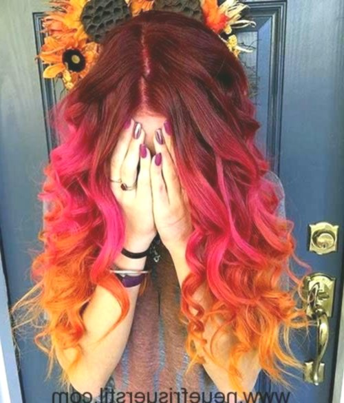 fresh gaudy hair-colored décor-New Gaudy hair colors design