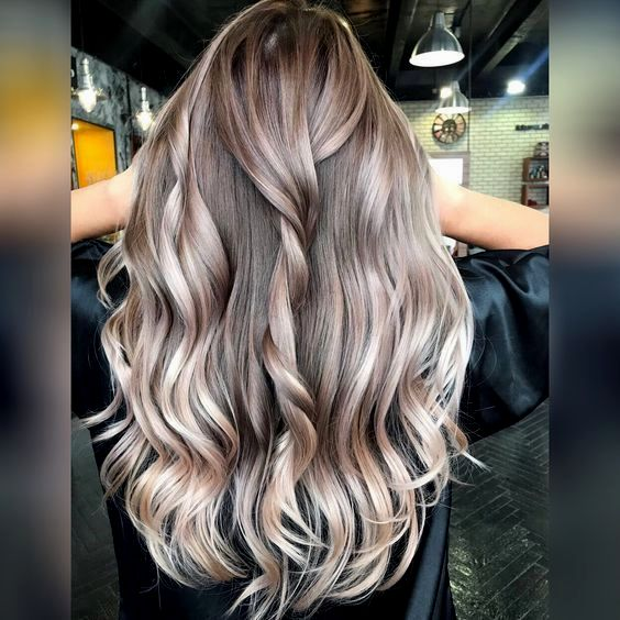 contemporary blonde straightening on brown hair build layout Cool Blonde Highlights On Brown Hair Ideas