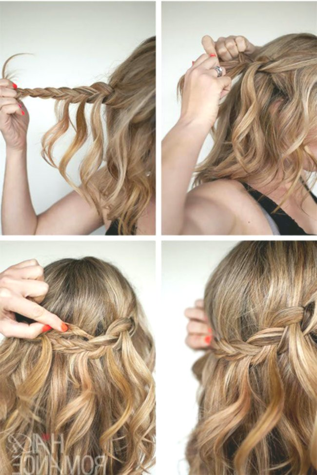 lovely hairstyles half pinned online-Beautiful Hairstyles Half Pinned Wall