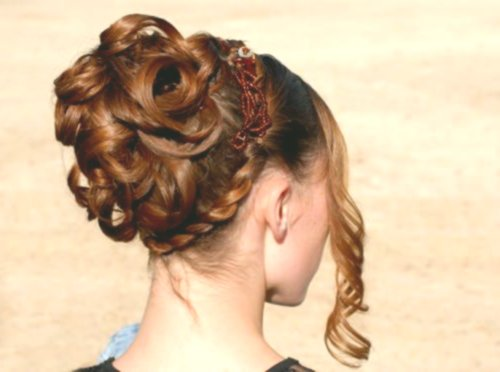 lovely braided hairstyles with curls gallery-Fascinating braids with curls construction