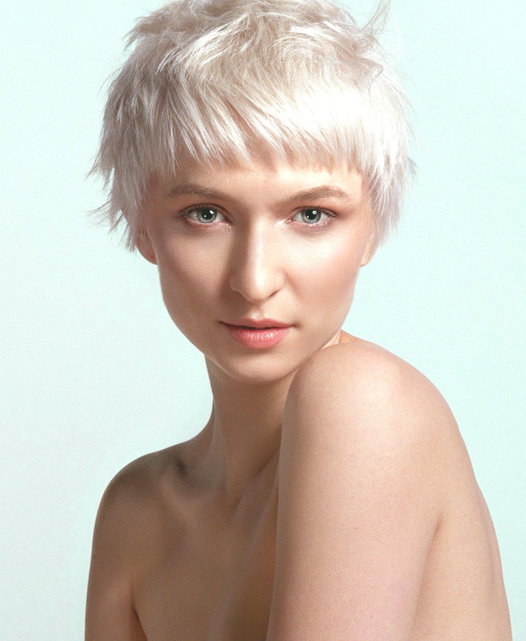elegant oval face hairstyle portrait-charming Oval face hairstyle portrait