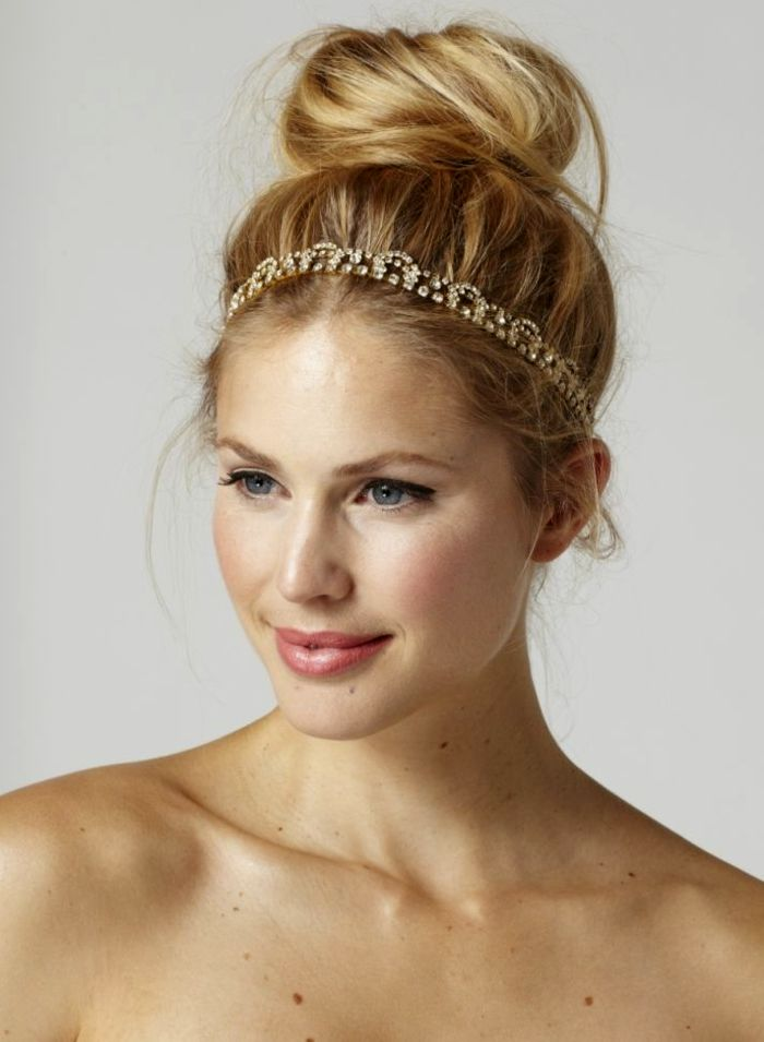 Stylish blonde hair tresses photo-Lovely blonde hair strands wall