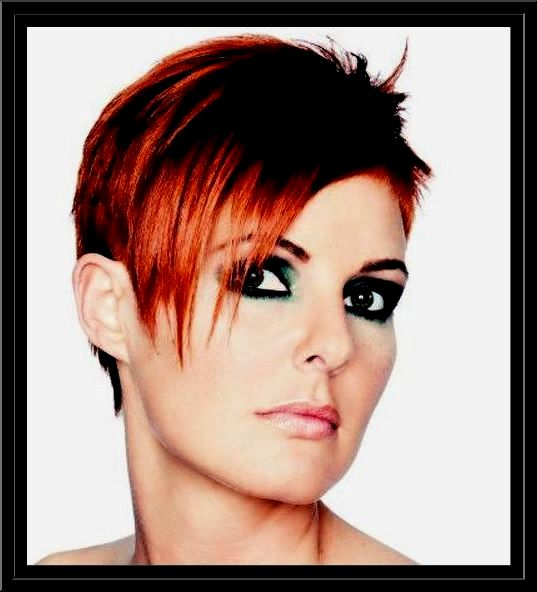 amazing awesome very short hair women's decoration-Fancy Very Short Hair Women Photography