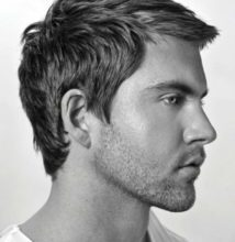 Photo of Superb hair styling men mid-length design