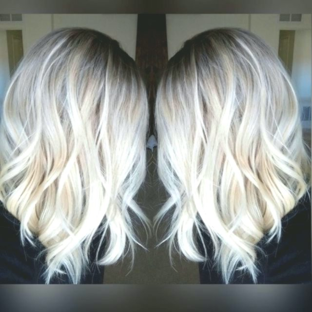 Lovely Blonde Hair Tinting Concept - Beautiful Blonde Hair Tones Pattern