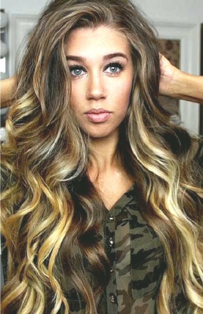wonderfully stunning wavy hair model - fresh wavy hair concepts