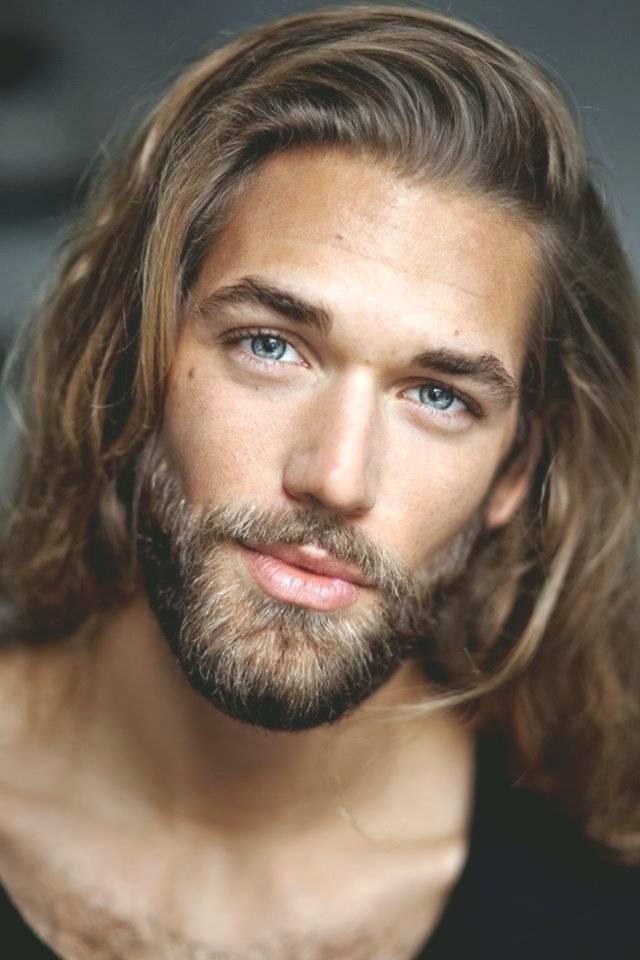 Nice Long Haircut Men's Concept-Beautiful Long Haircut Men Models