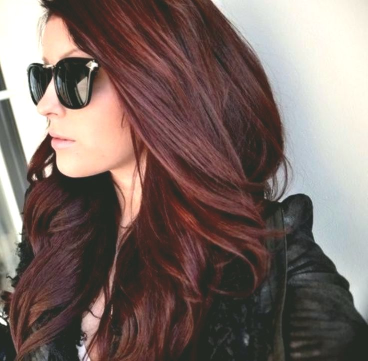 wonderfully stunning hair red décor-stylish hair red photo