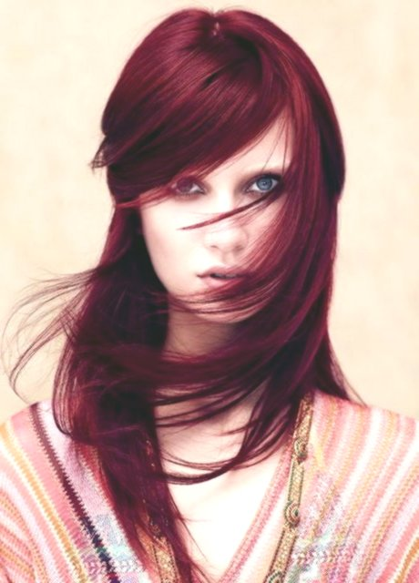 fascinatingly cut long hair photo picture-new cut long hair picture