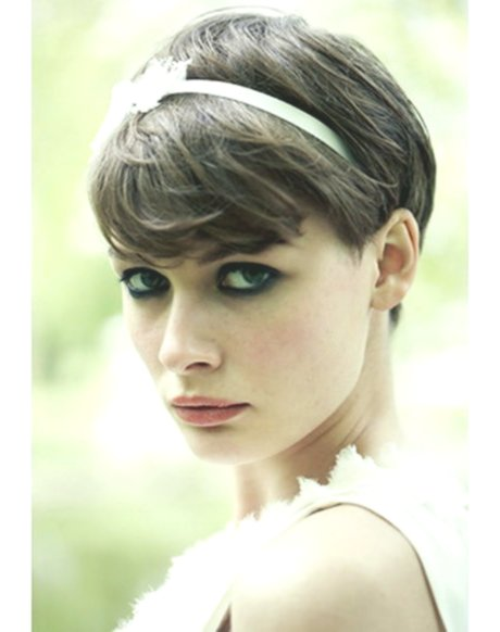 Excellent Hair Band Hairstyle Short Hair Collection-Cute Hairband Hairstyle Short Hair Model