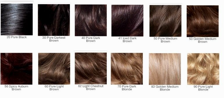 lovely shades of brown hair table collection-New shades of brown hair table gallery