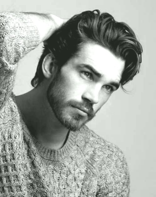 Latest Curly Hair Men's Fashion Modern Curly Hair Men Picture