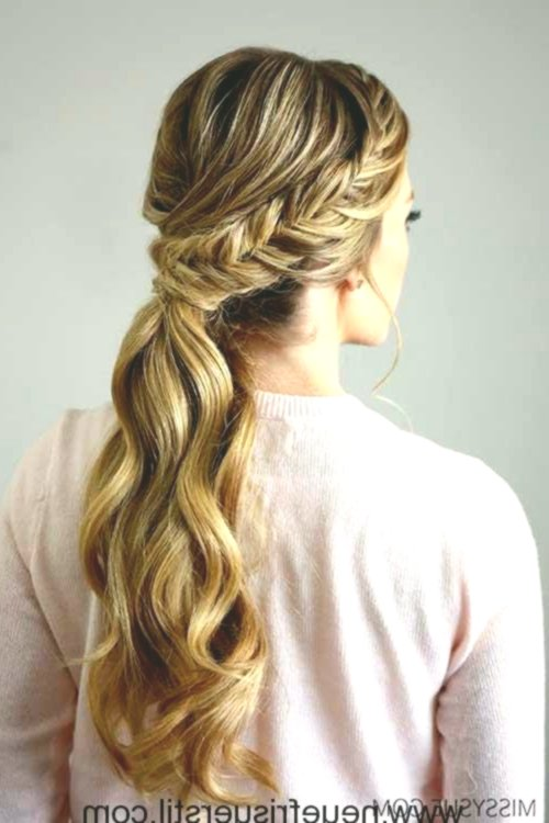 Fantastic Hairstyles Ponytail Decoration-Cute Hairstyles Ponytail Inspiration