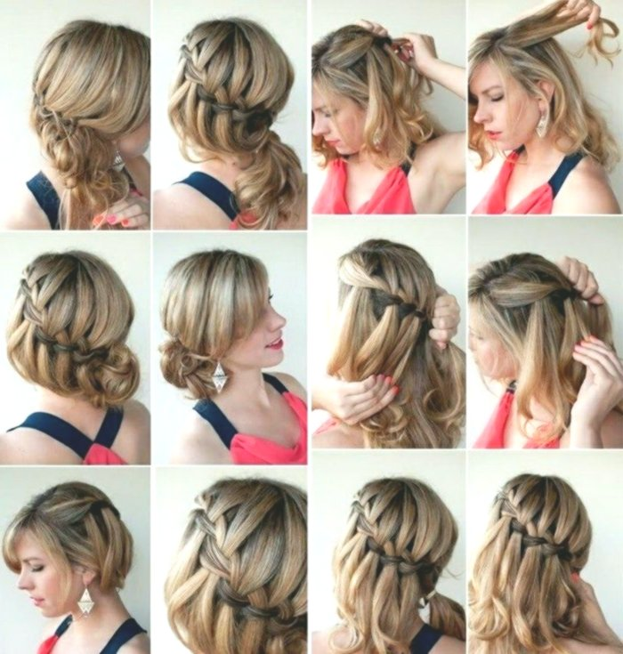 contemporary simple hairstyles self-made concept modern Simple hairstyles self-made design