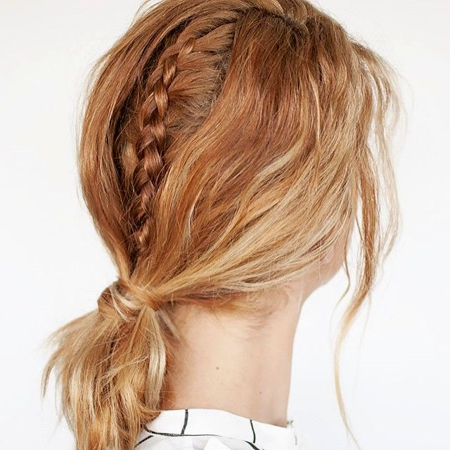 beautiful braids short-haired design-Awesome braided hairstyles shorthair concepts