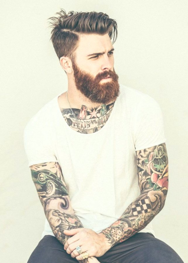 Lovely cool hairstyles for men. Model Beautiful Cool Hairstyles. For Men. Portrait