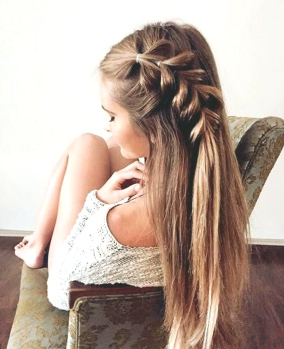 fantastic hairstyles half-open pattern-beautiful hairstyles half-open picture