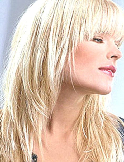 finest shoulder-length blonde hair online-Charming shoulder-length blonde hair model