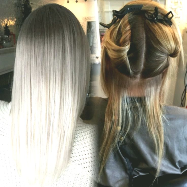 contemporary hair-dyeing blond collection-fancy hair-dyeing blond pattern