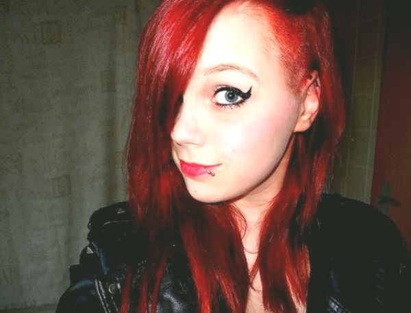 incredible hair color red black picture-luxury hair color red black gallery