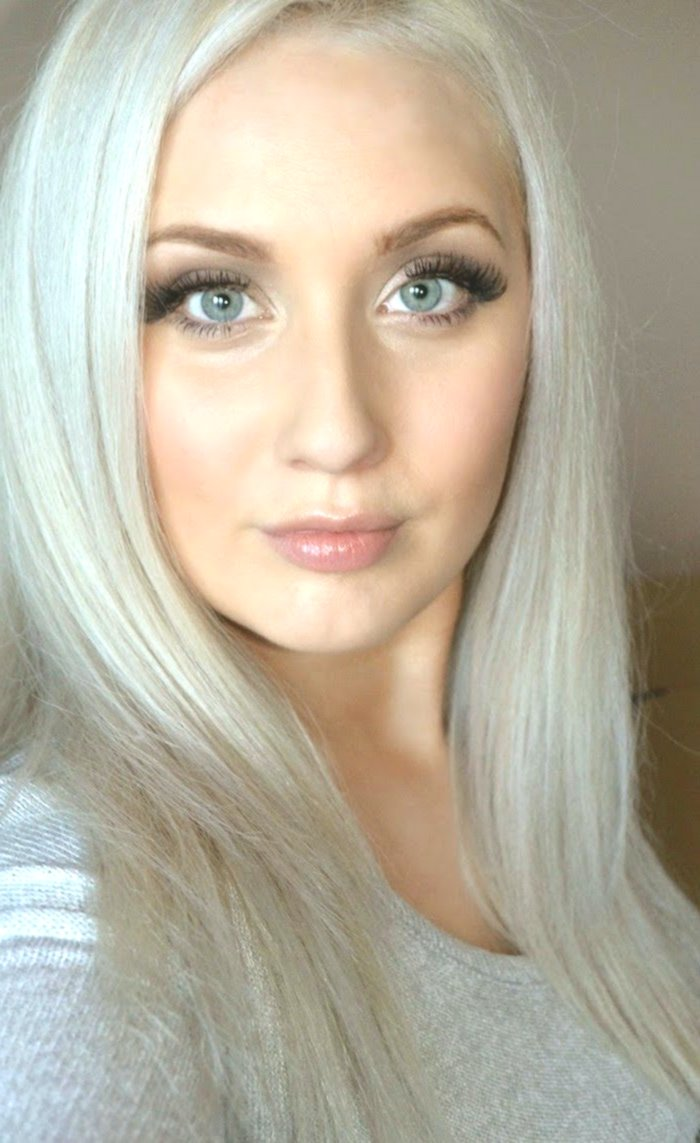 beautiful hair color silver blonde photo new hair color silver blonde photo